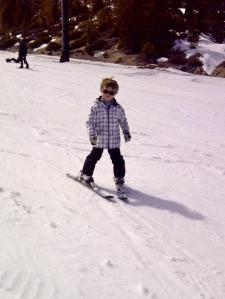Skiing At Snow Valley