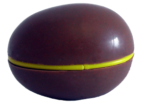 chocolate-egg-with-capsule-and-ridge