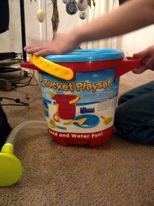 Bucket Playset