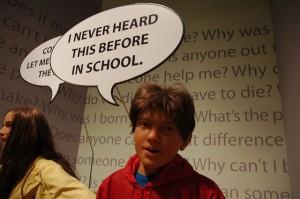 Never heard in school