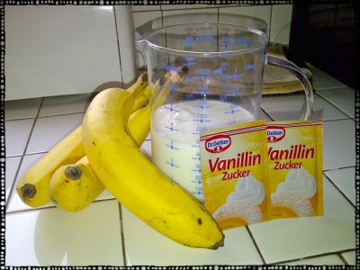 Banana Ice Cream Ingredients
