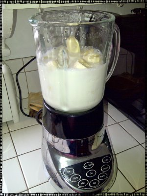 Banana Ice Cream Mix