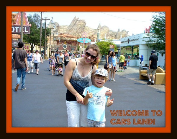 Cars Land Mainstreet