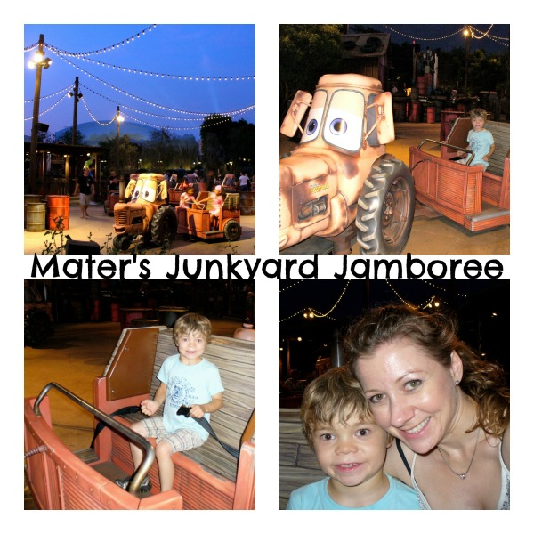 Mater's Junkyard Jamboree Cars Land