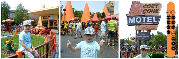 The Cozy Cone Motel at Cars Land