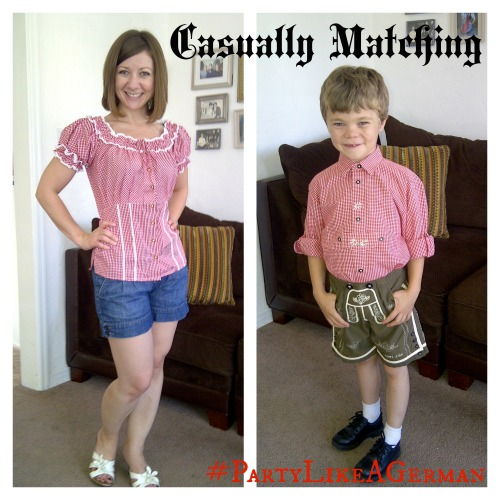 Casually Matching at Oktoberfest