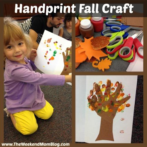 Handprint Fall Craft