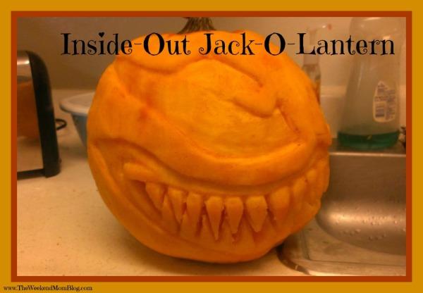 Inside-Out Jack-O-Lantern