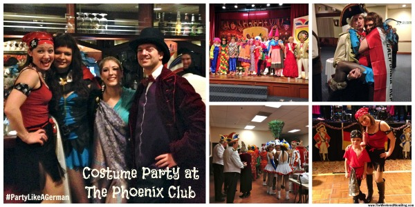 German Mardi Gras, Karneval at the Phoenix Club in Anaheim